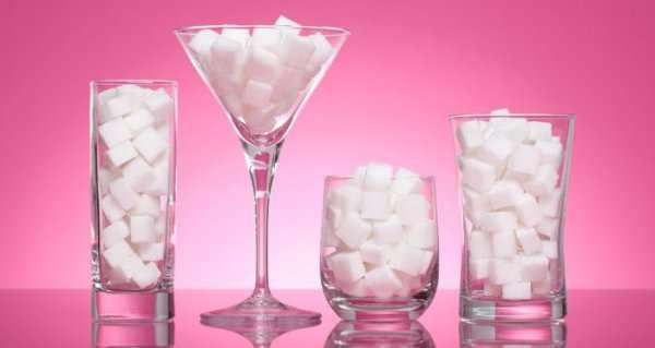 Как есть меньше сахара